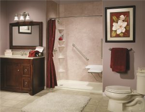 Norcross Bath Remodel Company low barrier shower conversion 300x232
